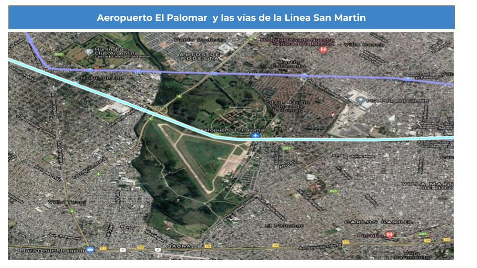 Posible conexión con el Aeropuerto del Palomar.